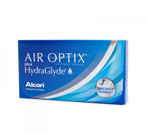 Air Optix plus HydraGlyde kontaktlinser